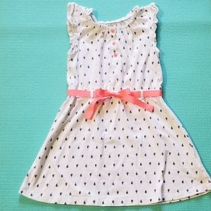 Carter's Girls 5T Blue and White Sailboat Dress